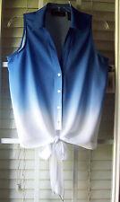 INC Int'l Concept Sleeveless Dip-Dye Casual Button-Front Shirt ($59.50) - 2