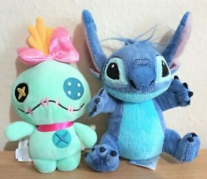 Disney Stitch and Scrump Plush Soft Toy Bundle, Great condition! Approx 20cm!