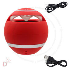 New red mini haut-parleur bluetooth sans fil main-libre pour pc portable mobile ukdc