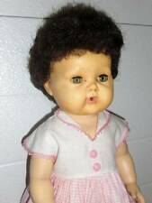 "American Character ~ Tiny Tears 16"" Rubber Doll 1950-60 #11"