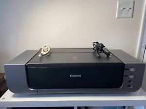 CANON PIXMA Pro 9000 Inkjet Printer Wide Format Photo Printer - Tested - Working