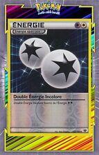 Double Energie Incolore Reverse-XY:Noir et Blanc-130/146-Carte Pokemon Neuve FR