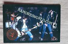 "Ramonesworld Postcard 4""X6"" punk"