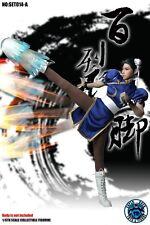 PRE-ORDER SUPER DUCK 1/6 Cosplay Street Fighter Chun-Li Head+AccessroiesSET014-A