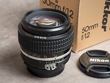 Nikon Nikkor 50mm f1.2 AI-S - Nikon F fit - SN:351885