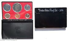 """Vintage 1974-S US PROOF SET 6 CAMEO COINS INCLUDES """"IKE"""" DOLLAR"""