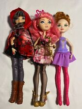 EVER AFTER HIGH DOLL LOT ~ Mattel CERISE HOOD, CUPID w/CLOTHES & ACCESSORIES