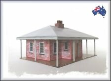 HO Scale Australian WEATHERBOARD FAMILY HOME