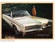 1968 Chrysler 300 Convertible 2D  Refrigerator / Tool Box Magnet