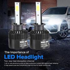 110W H1 COB LED 16000LM Auto Car Headlights Kit Driving Bulbs Lamps 6000K UK