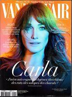 VANITY FAIR N° 50--CARLA BRUNI/JOHNNY DEPP RUINé/OBAMA AIMé DES FRANCAIS/