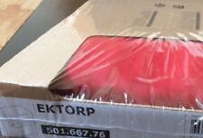 IKEA EKTORP Footstool Cover IDEMO RED - IKEA Slipcover Number 501.667.76 NEW FS