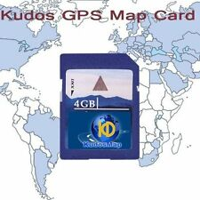 carte SD West Europe Système de navigation GPS En 4GB SD Card For France Belgium