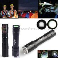 Linterna Flashlight Focus Torch Light Lamp Tamaño de bolsillo Mini LED Linternas