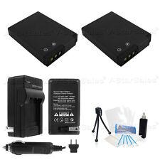 2x EN-EL12 Battery + Charger for Nikon Coolpix S620 S630 S640 S70 S710 S800c