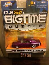 1970 Dodge Charger Jada Toys Dub City Bigtime Muscle Car 1/64 Scale