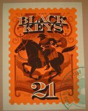 Black Keys Tom Whalen Kansas City Concert Poster Print Signed Numbered Art 2014