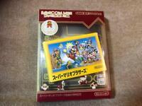 Nintendo Game Boy Advance SUPER MARIO BROS 20th ver GBA Famicom Mini USED