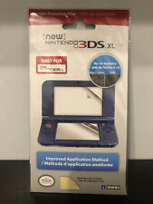 Screen Protective Filter for New Nintendo 3DS XL Protector Hori Made in Japan