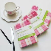 Set of 12 Ultra Absorbent 100%Cotton Professional Kitchen Dish Towels Tea Towels