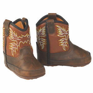 ARIAT WORK HOG INFANT BOOTS BROWN - BOOT KIDS BOYS - A442001402