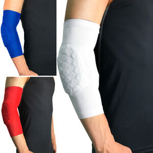 Sports Elbow Protection Pads Honeycomb Anti-collision Arm Sleeve Protective Gear
