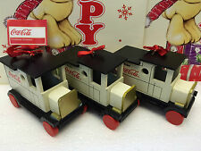 Coca-Cola Wooden Truck - Christmas Tree Collectable