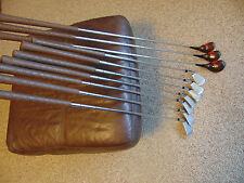 Vintage Set Wilson Patty Berg  Ladies RH 3-9 Irons Iron 1 3 5 Woods Driver Wood