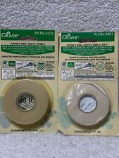 Clover Fusible Web Notion, 10mm & 5mm
