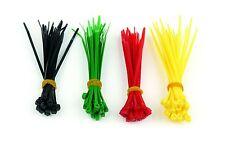 100 BRIDAS de NYLON de COLORES para sujetar y organizar cables - 100 x 2,5 mm