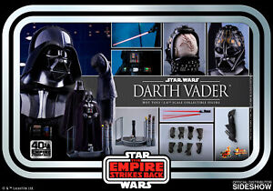 Hot Toys Star Wars Darth Vader 1:6 Scale Figure ESB 40th Anniversary MMS572 Sith
