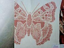 4559]Blackwork Stitch Chart-Large Butterfly Design