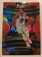 2019-20 Select Concourse Red Prizm Refractor Dangelo D'Angelo Russell #123/199