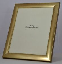 Quality Brushed Gold/Brass Photo/Picture Frame  - Various Sizes available