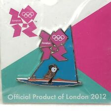London 2012 Olympic Games Venue Collection SAILING Collectors Pin Badge On Card