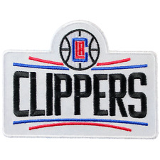 OFFICIAL Los Angeles Clippers Primary Team Logo Jersey Patch Basketball Emblem
