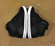DC Spartan High WC WNT Men's Size 11 Black Armor BMX MOTO Skate Shoes Sneakers