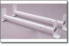 Cross Tread Roof Mount 300 Series Steel Van Racks 3 Bar- White - 83003 | 81503