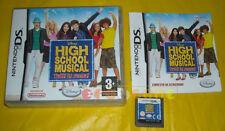 DISNEY HIGH SCHOOL MUSICAL Nintendo Ds Versione Ufficiale Italiana »»»» COMPLETO