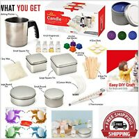 Complete DIY Candle Making Kit W/ RichFragances - Art Supplies for Kids & Adults