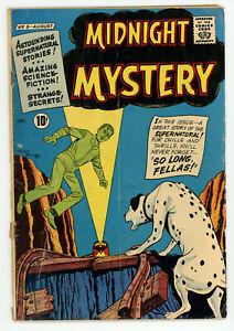 JERRY WEIST ESTATE: MIDNIGHT MYSTERY #5 (ACG 1961) NO RES