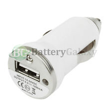 100 Usb Mini Car Charger for Samsung Galaxy S4 S5 S6 S7 S8 Note 3 4 5 7 8 Hot!