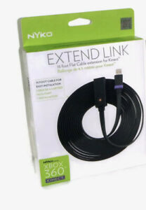NYKO Extend Link 15ft Flat Cable Extension for XBOX 360 Kinect