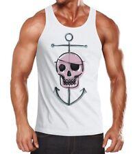 Caballeros divertido manga Pirate Skull calavera con anclaje moonworks ®