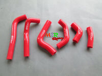 RED silicone radiator hose for HONDA CRF450R CRF 450R 2002 2003 2004