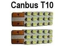 LED PER LUCE BAULE 12v 2pcs. T10