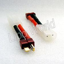 Deans Stecker auf Tamiya Buchse 12AWG !!! Adapter Lade Kabel LiPo Akku