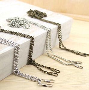 40 ~ 200 CM  Shoulder Strap Smooth Metal Chain for Handbag & Bag & Sewing #L02