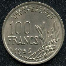 1954 France 100 Franc Coin