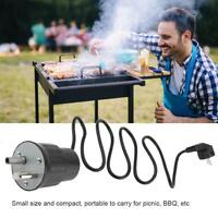 Electric BBQ Roast Rotisserie Grill Motor Rotator Outdoor Barbecue Tool